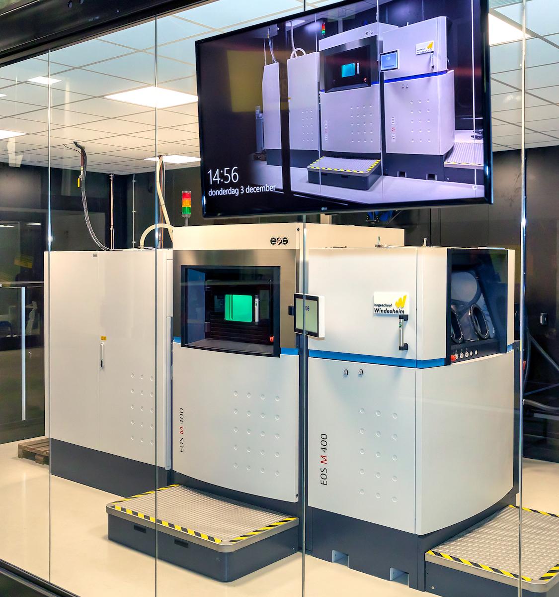Windesheim 3D Metal Printer